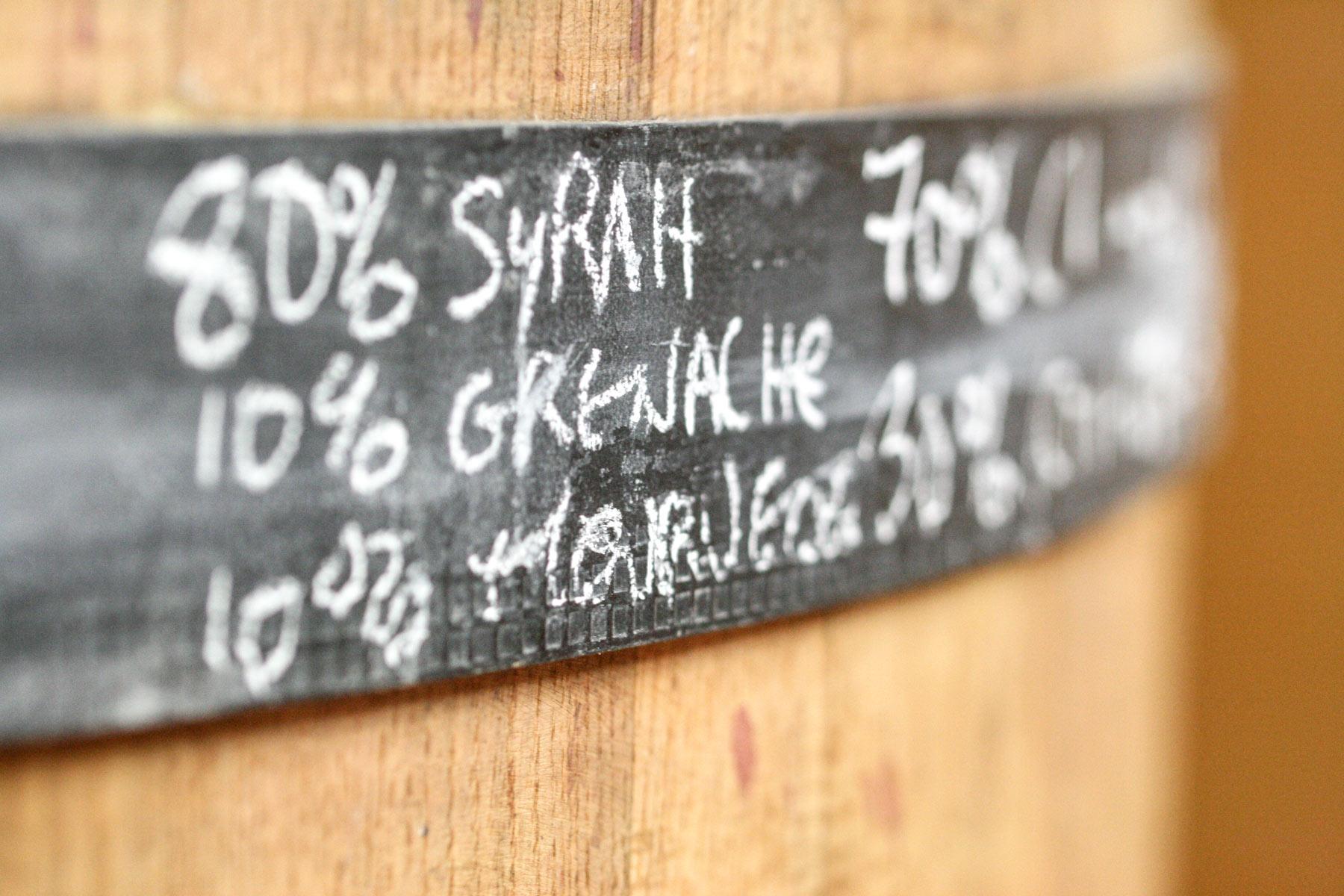 Die neuen Cuvées von Chamfort reifen in konischen Weinfässern, die ein harmonisches Gesamtbild fördern.