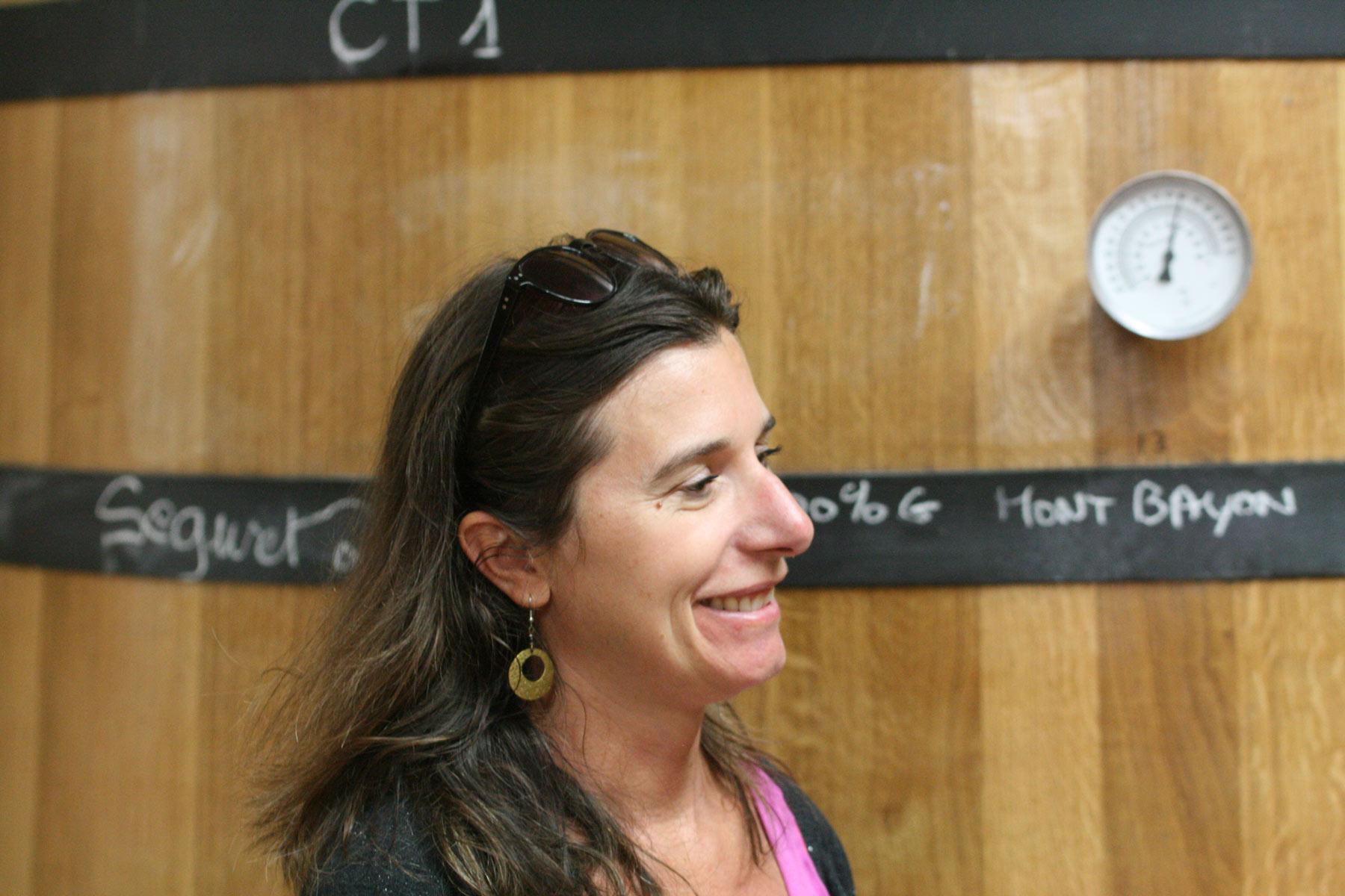 Im Weinberg und im Weinkeller werden die Chamfort Weine sorgfältig erzeugt. Sonia Perdigao.
