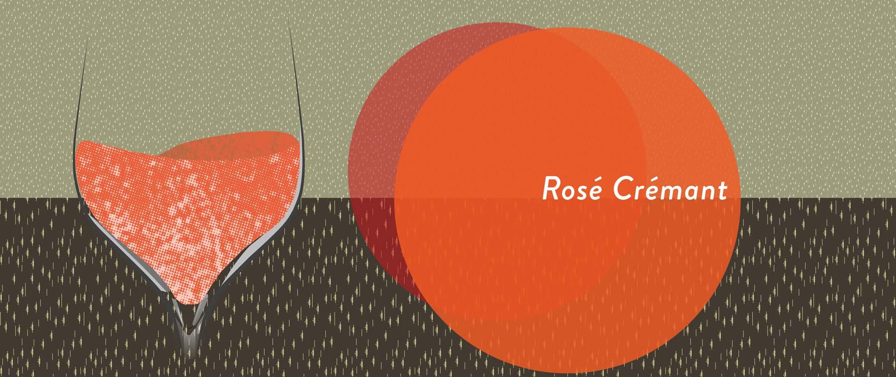 Cremant aus roten Trauben können auch rosé ausgebaut werden