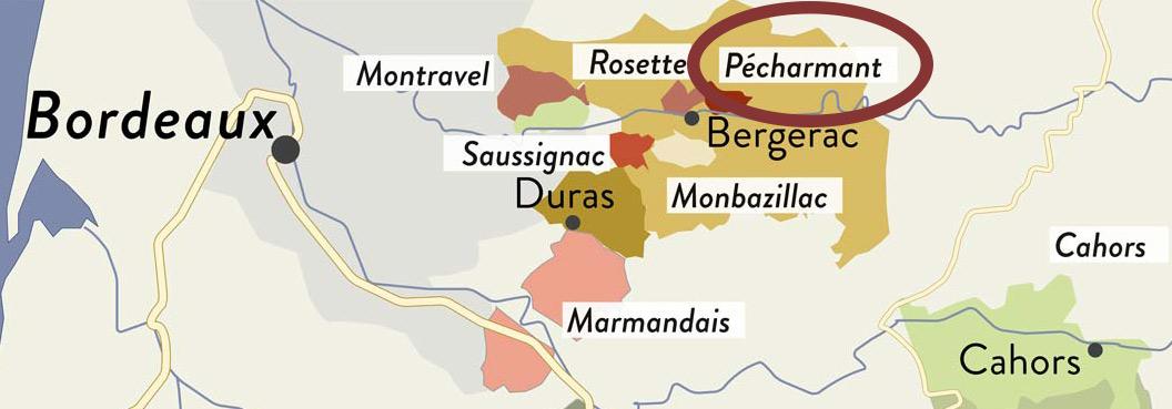 Pécharmant ist eine der besten - wenn auch ein der kleinen Region im Südwesten