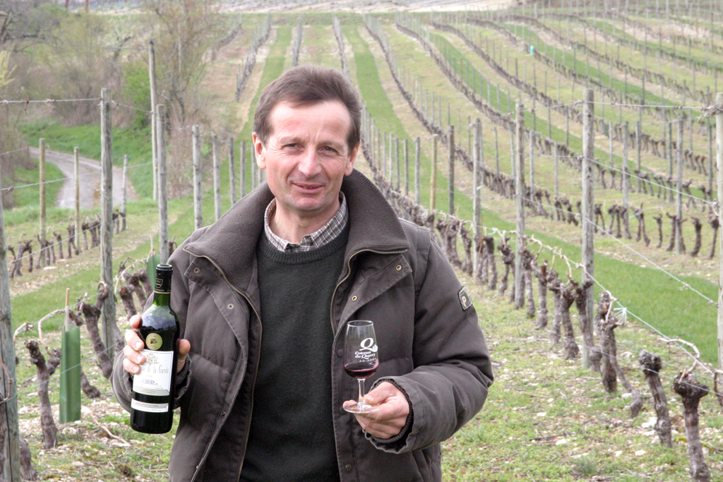Jean-Jacques Bousquet von der Domaine de la Garde in Cahors