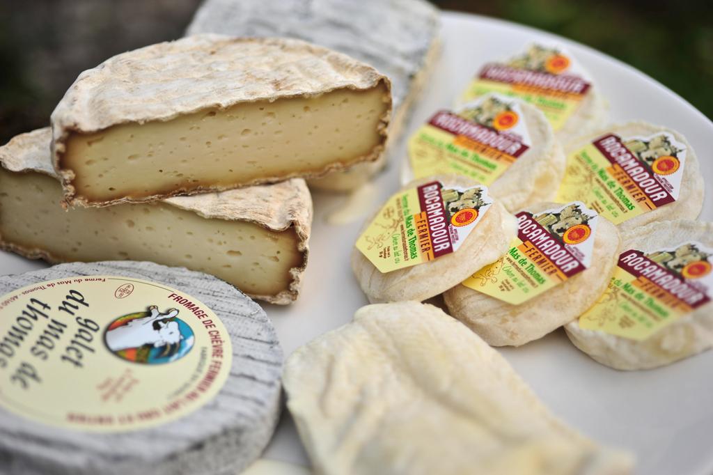 Käse, Pasteten und Trüffel sind die Produkte im Cahors - und der passende Wein