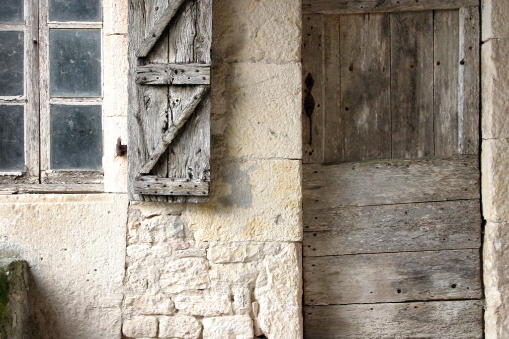Alte Scheune auf der Domaine de la Garde