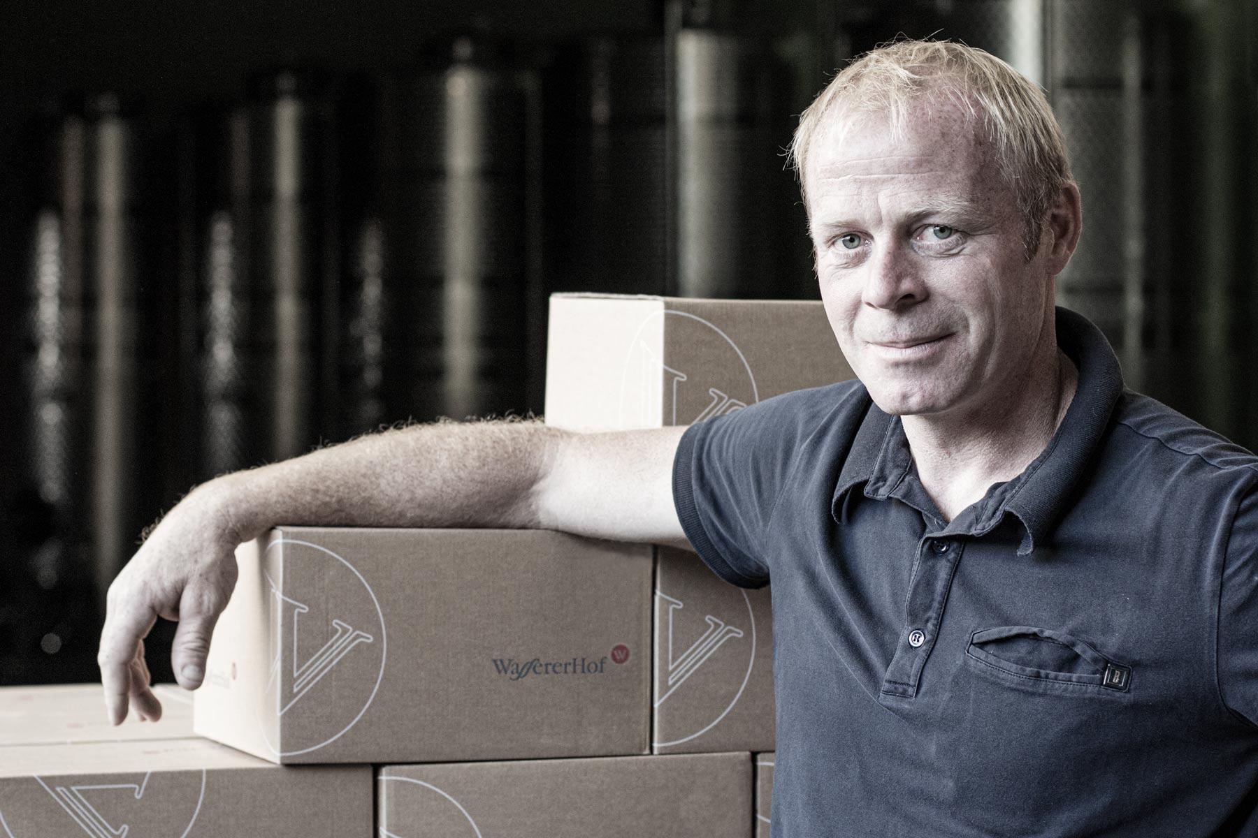 Christoph Mock macht die Weine auf dem Wassererhof