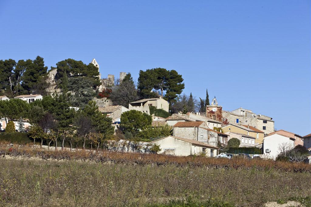 Rasteau in der Provence