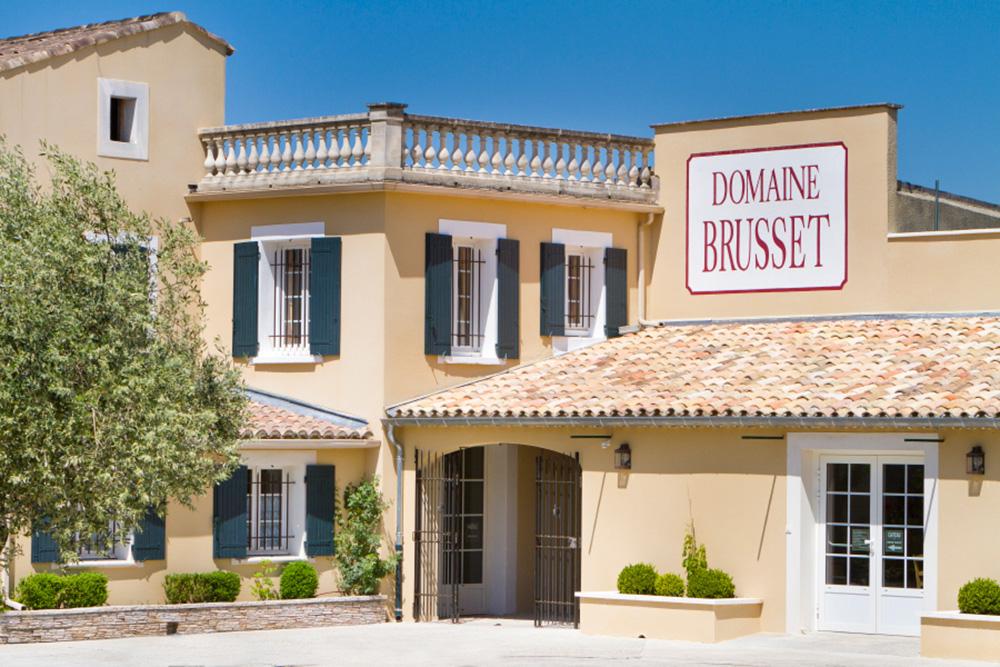 Die Domaine Brusset in Cairanne