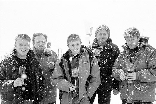 Die Mossio Brüder im piemonteser Schnee