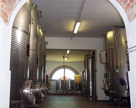 Der Weinkeller der Familie Mossio