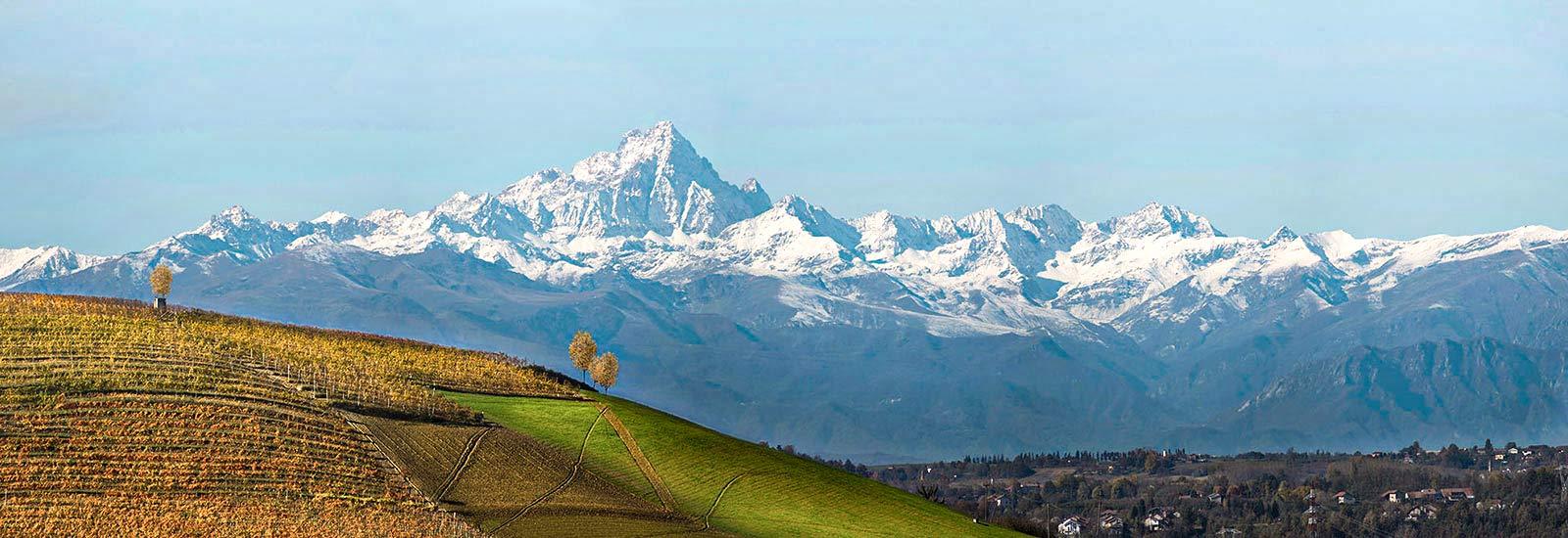 Charakteristisch für das Piemont ist nördliche Lage am Fuße der höchsten Berge der Ostalpen