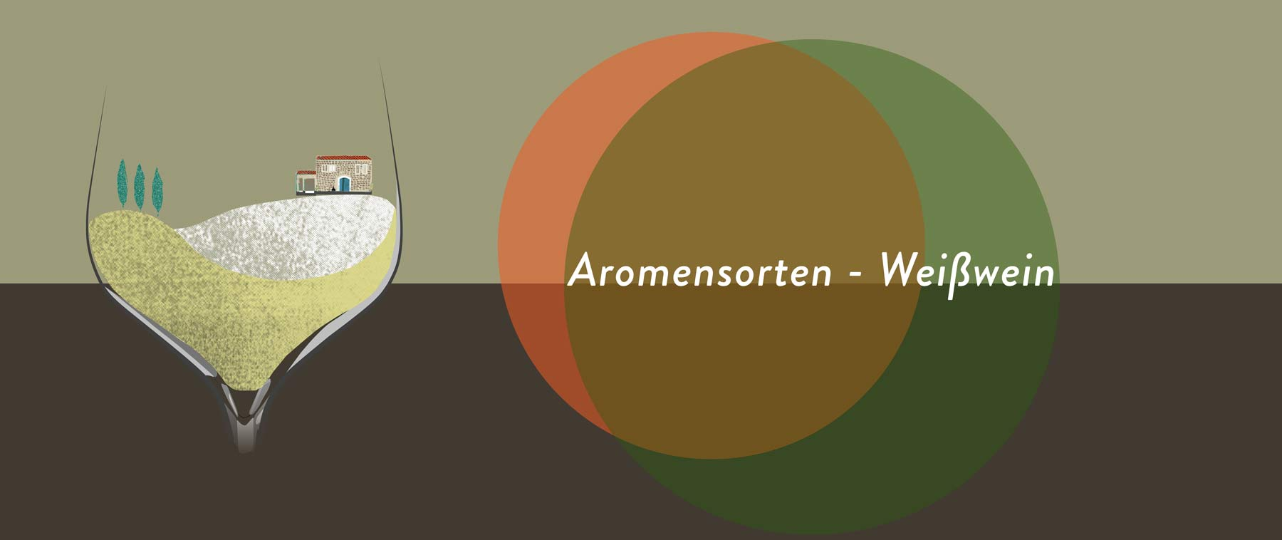 Weißwein aus aromenreichen Rebsorten haben oft mehr Volumen als mancher Rotwein