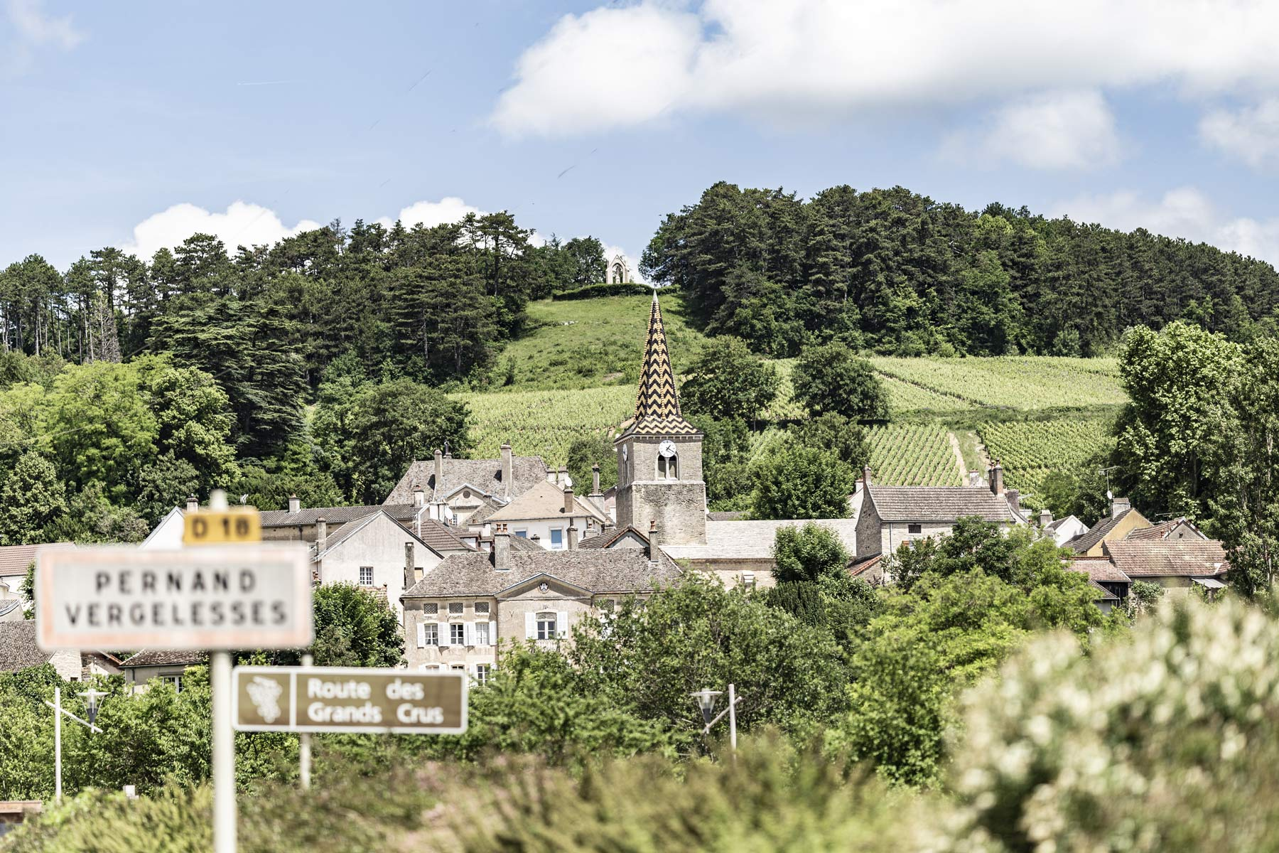 Pernand Vergelesses im Burgund