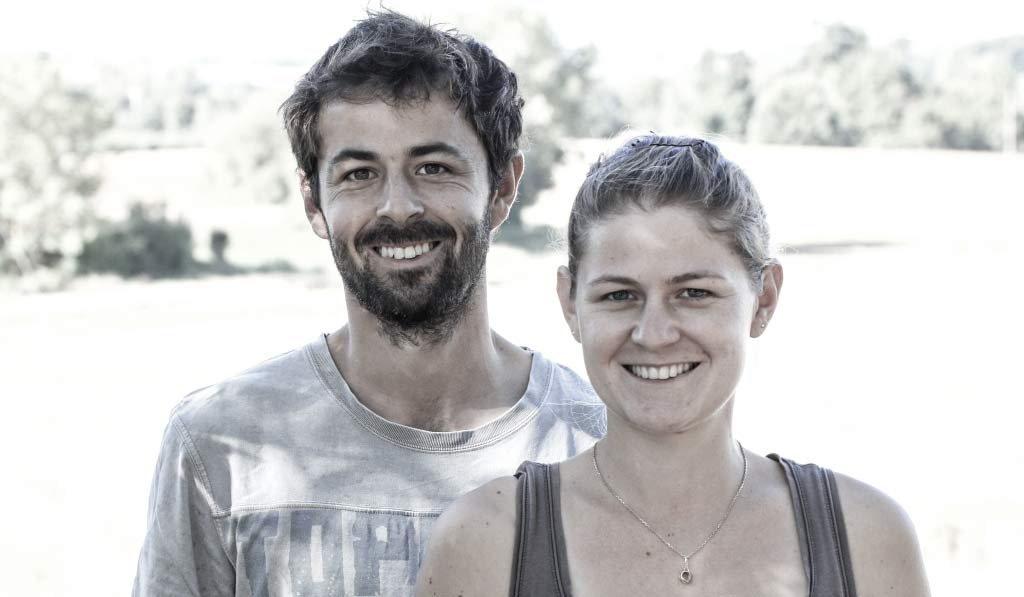 Offensichtlich Geschwister: Ivan und Léa Bireaud