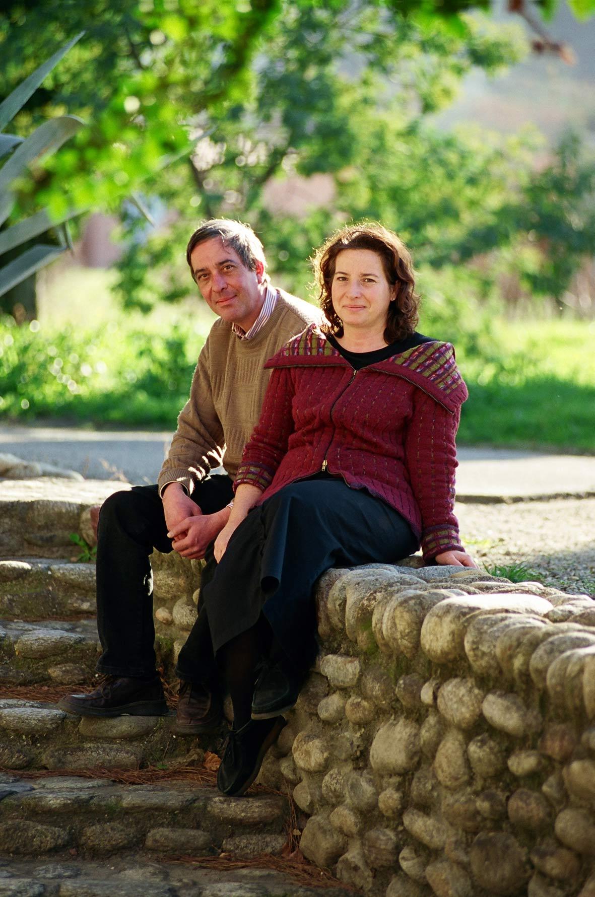 Nathalie et José Pujol von der Domaine Mas Rous