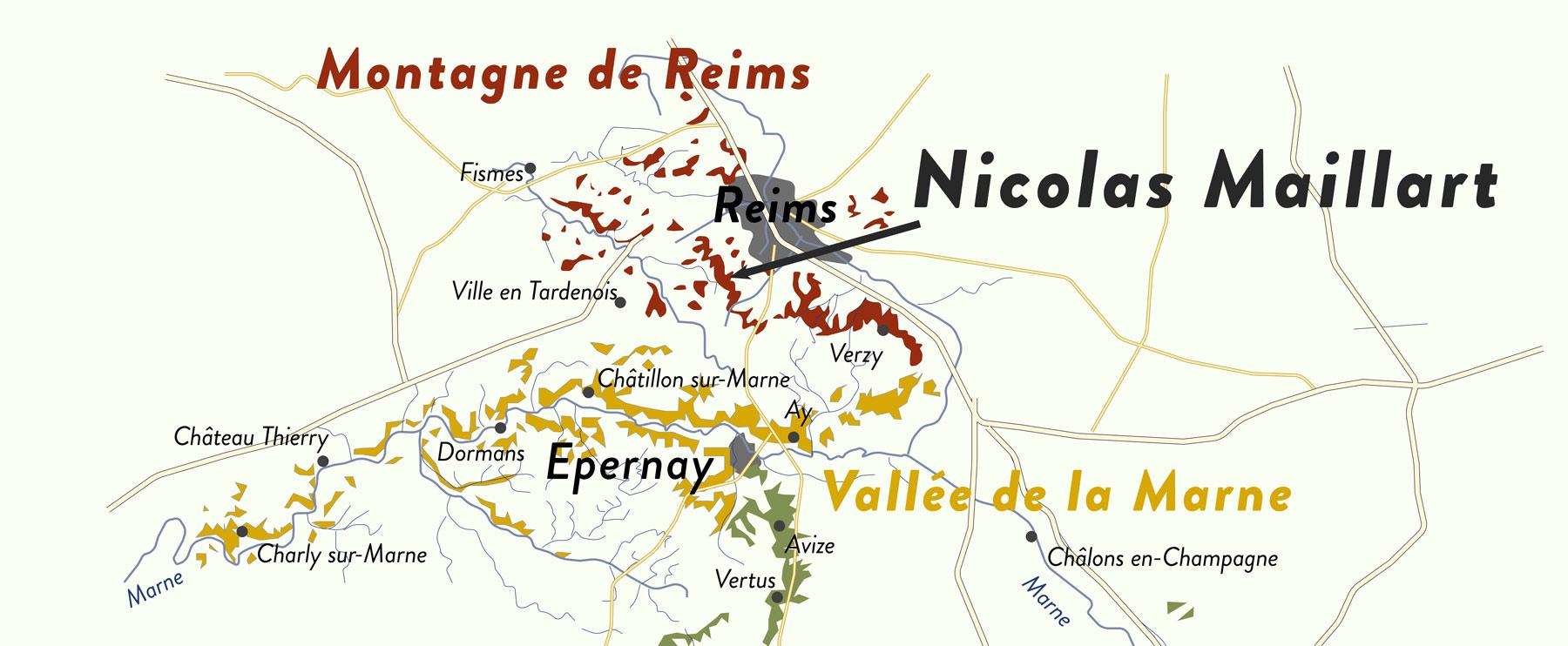 Maillart in den Montagne de Reims