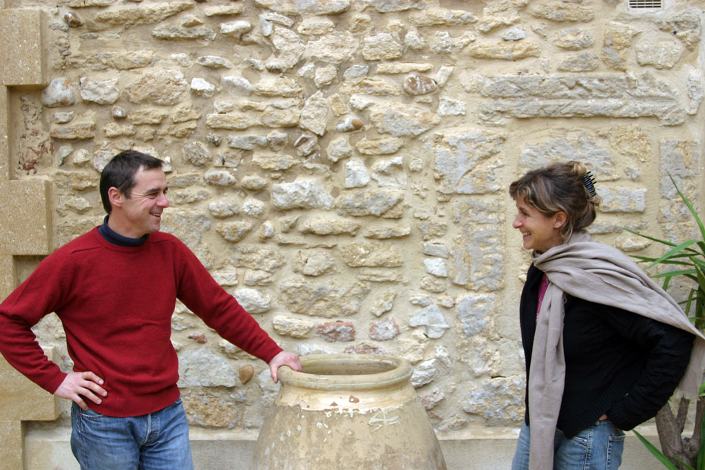 Veronique und Thierry Boudinaud
