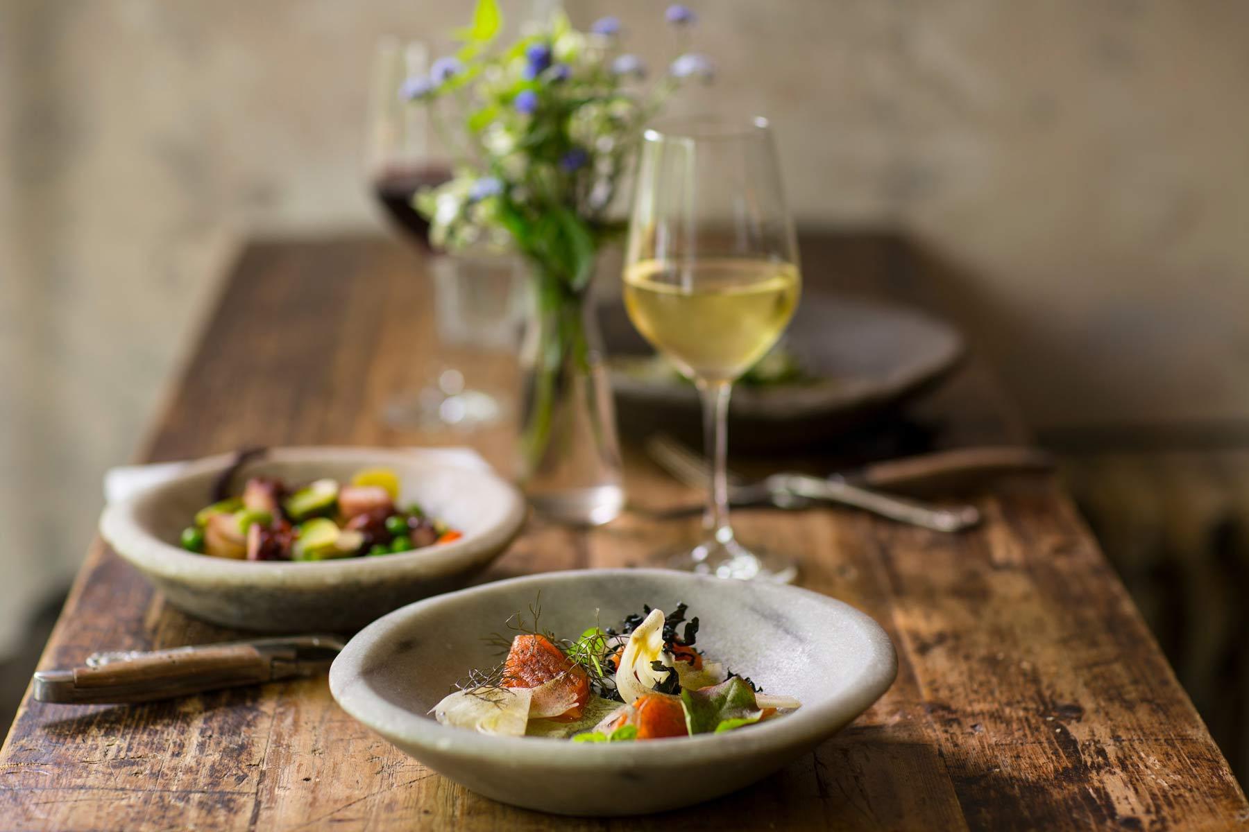 Weintypen und dazu passendes Essen lassen sich gut einteilen, wenn man es nicht zu genau nimmt