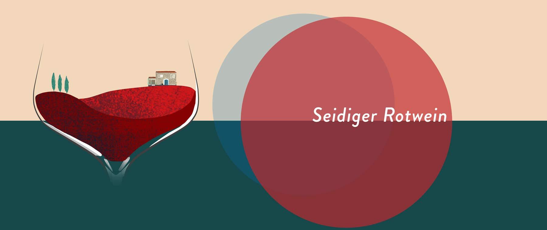 Seidige Weine sind oft hell. Sie stammen von Sorten mit dünnen Schalen, die wenig Gerb- und Farbstoffe an den Wein geben.