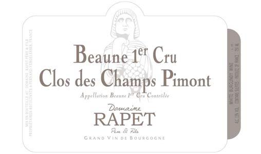 Beaune Blanc 1er Cru Clos des Champs Pimont