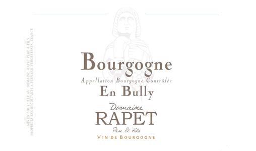 Bourgogne Rouge En Bully