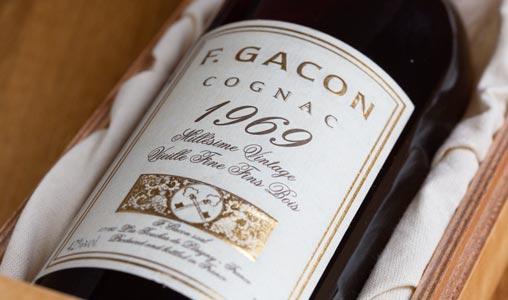 Cognac Gacon 1969